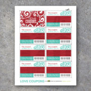 Love Coupons For Her – Printable Instant Download