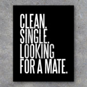 Clean Single Printable Wall Art