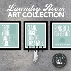 Laundry Room Art Collection