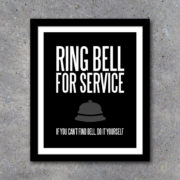 Ring Bell For Service Kitchen Decor