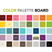 Color Palette Board