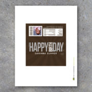 Personalized Happy Birthday Photo Candy Bar Wrapper