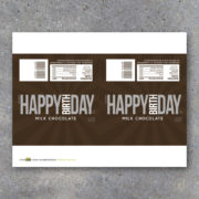 Happy Birthday Candy Bar Wrappers for Party Favors