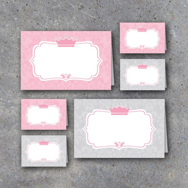 Little Princess Tent Cards