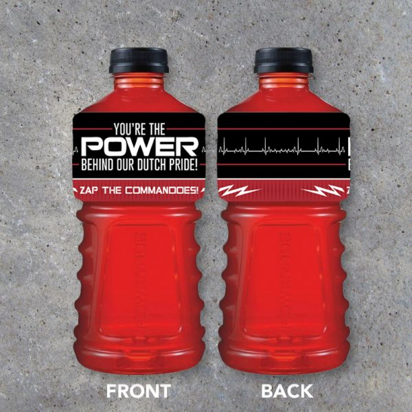 Sports Drink Labels for Powerade