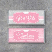 It's a Girl Baby Shower Party Favors