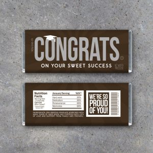 Graduation Congrats Candy Bar Wrappers