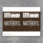 Happy Mother's Day Printable Hersheys Candy Bar Wrapper
