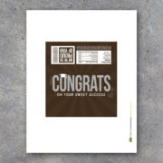 Congratulations Graduate Hershey Bar Wrapper