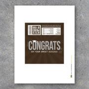 Congratulations Graduate Hershey Bar Wrapper