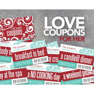 romantic coupons for her