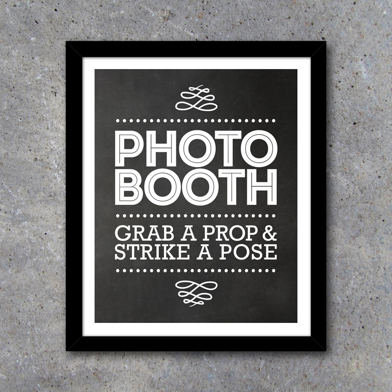 photograph regarding Photo Booth Sign Printable known as Photograph Booth Indication and Directional Signs and symptoms - Printable Immediate Obtain