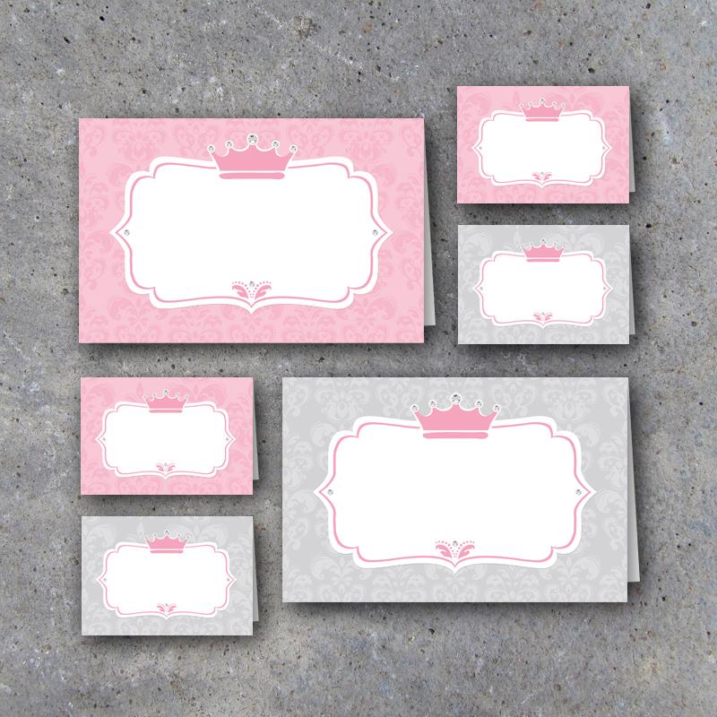 Little Princess Tent Cards