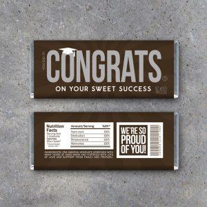 Graduation Congrats Candy Bar Wrappers