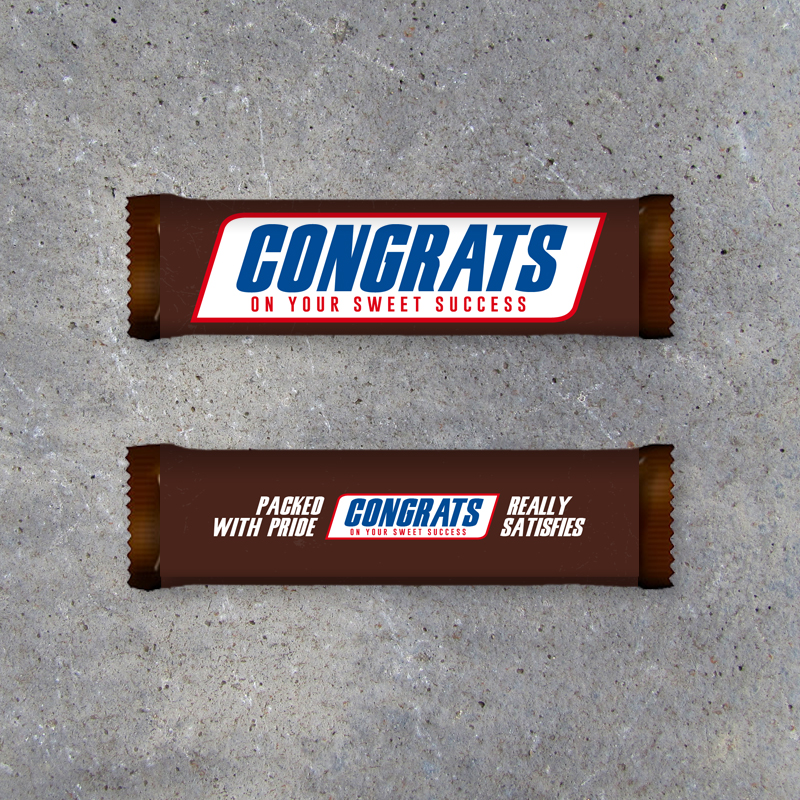Snickers Congrats